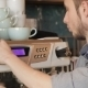 Barista Makes Coffee With a Coffe Machine - VideoHive Item for Sale