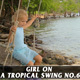 Girl On A Tropical Swing no.6 - VideoHive Item for Sale