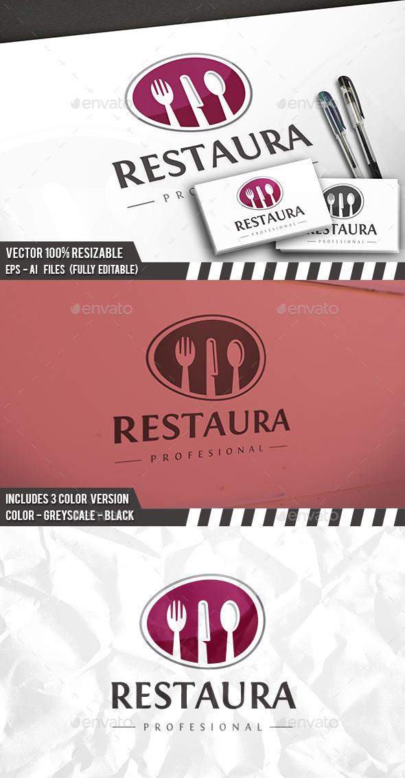 Bistro Modern Logo - Food Logo Templates