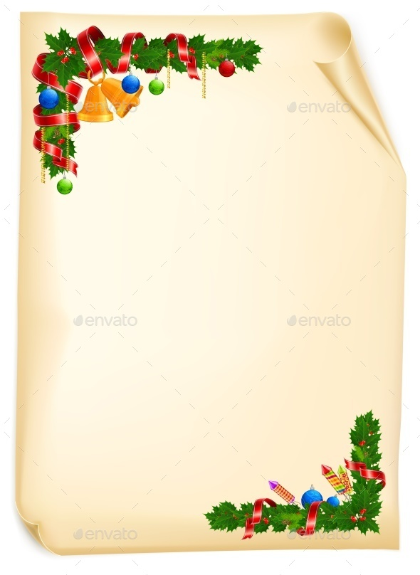Christmas Angle Garland Card - Concepts Business