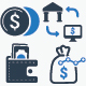 Personal And Business Finance Icons - GraphicRiver Item for Sale