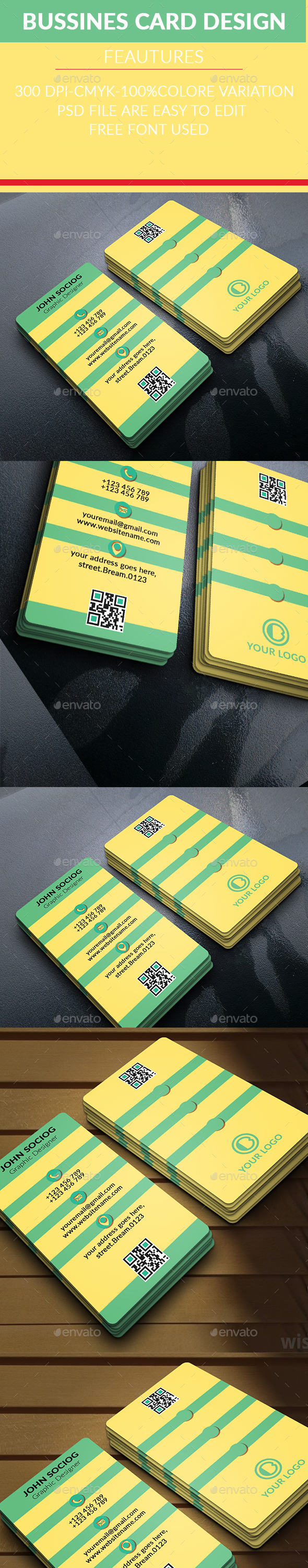 New Corporate Business Card 2 - Business Cards Print Templates