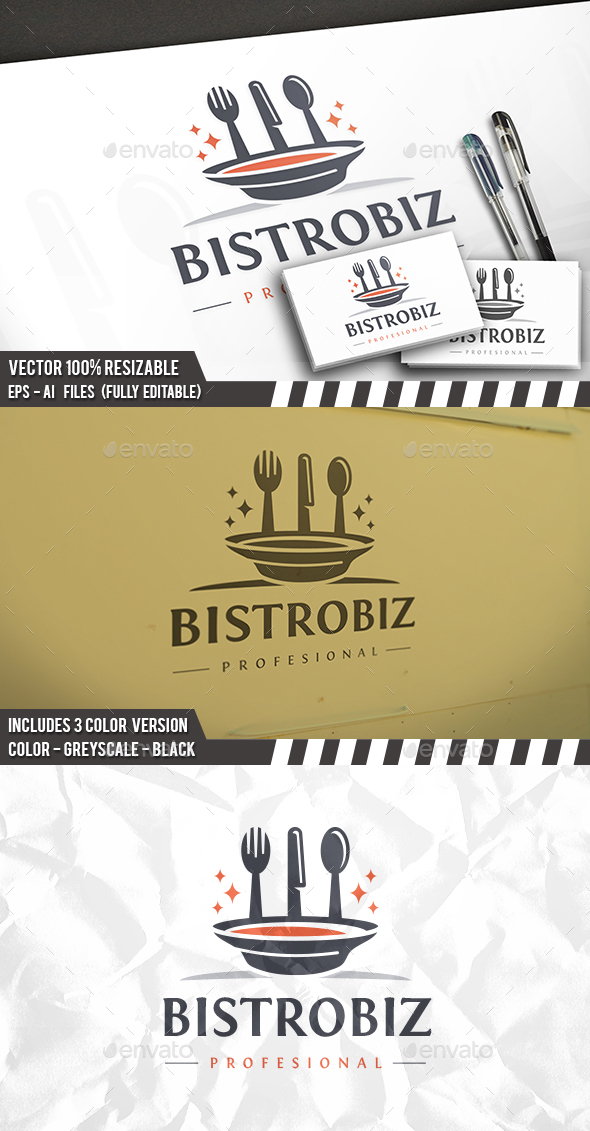 Magic Food Logo - Food Logo Templates