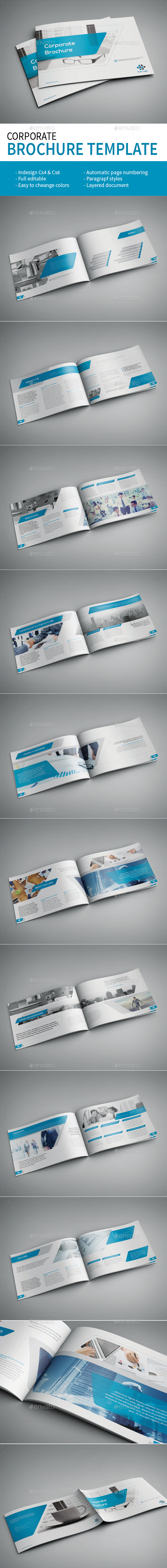 Corporate Brochure - Brochures Print Templates