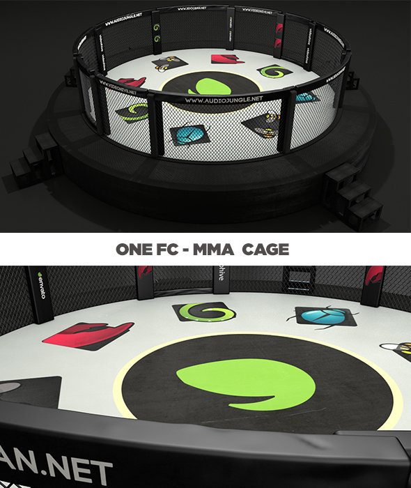Mma Cage - One Fc - 3DOcean Item for Sale