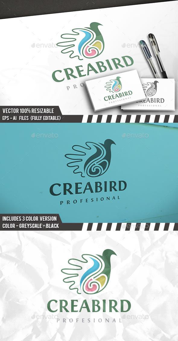 Creative Bird Logo - Animals Logo Templates