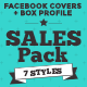 Facebook Timeline Covers and Box Profile - Sales Pack - GraphicRiver Item for Sale