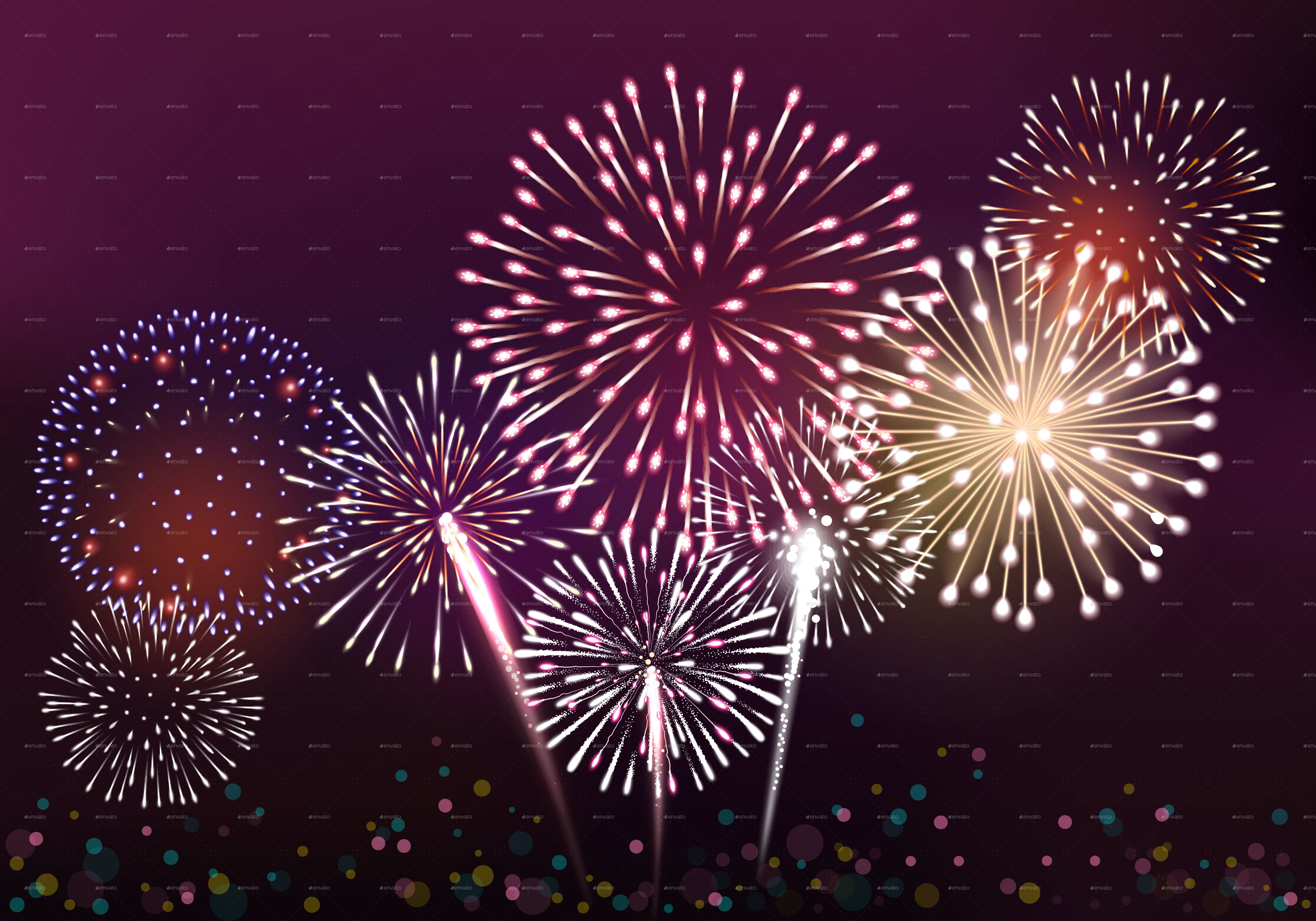 how to add fireworks to powerpoint 2010