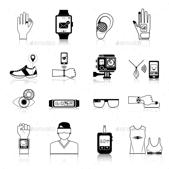Gadgets And Devices Icons Set - Technology Icons
