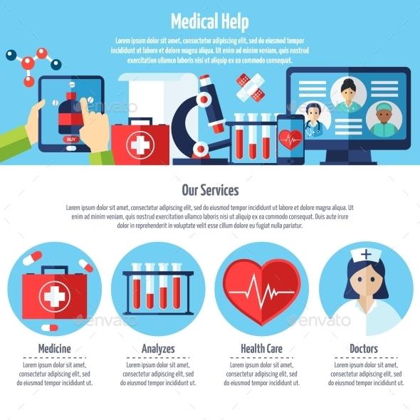 Medical Web Site - Health/Medicine Conceptual