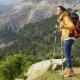 Active Fit Young Woman Hiker - VideoHive Item for Sale