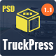 Truck Press | Logistics & Transport Business PSD Template