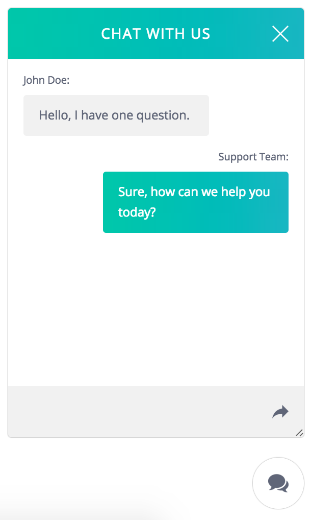 php live support