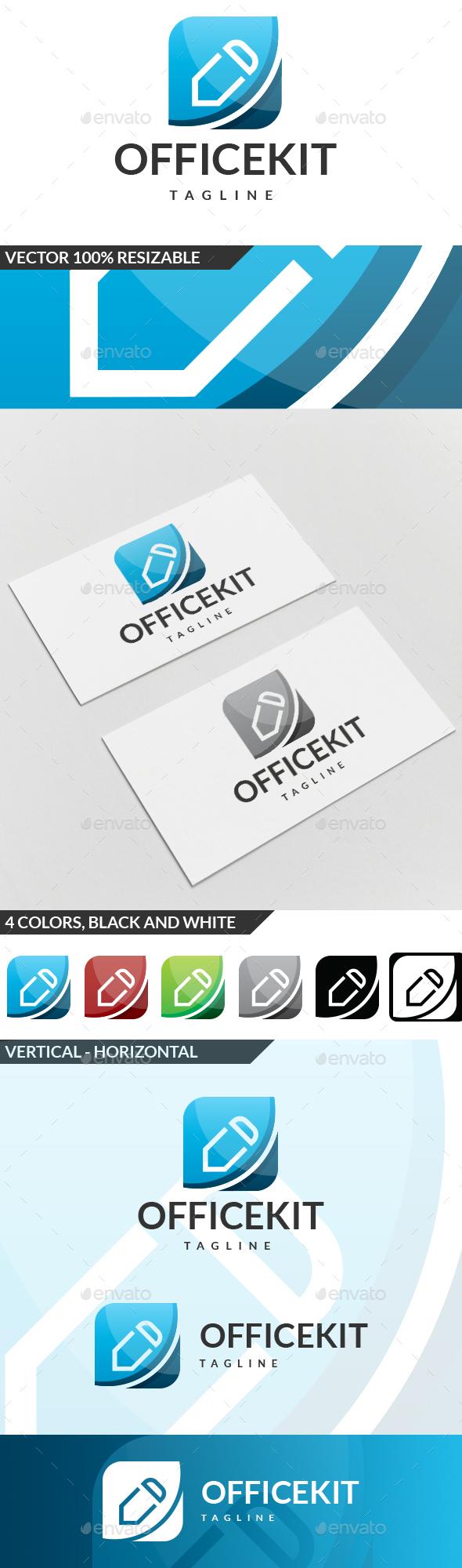 Office Kit Logo - Symbols Logo Templates