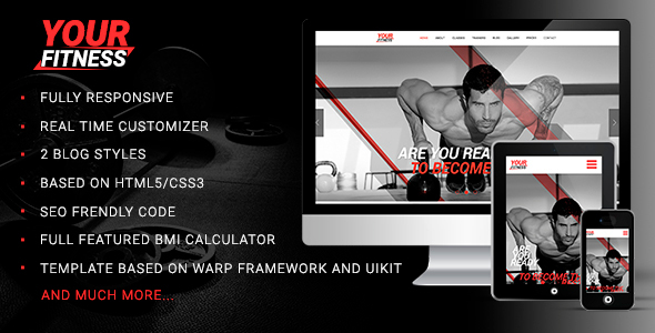 Image of YourFitness — Sport Blog, Fitness Club, Gym Theme