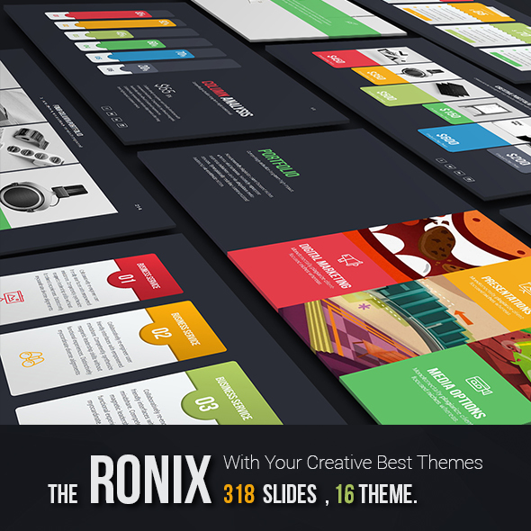 Ronix Creative Theme - Creative PowerPoint Templates