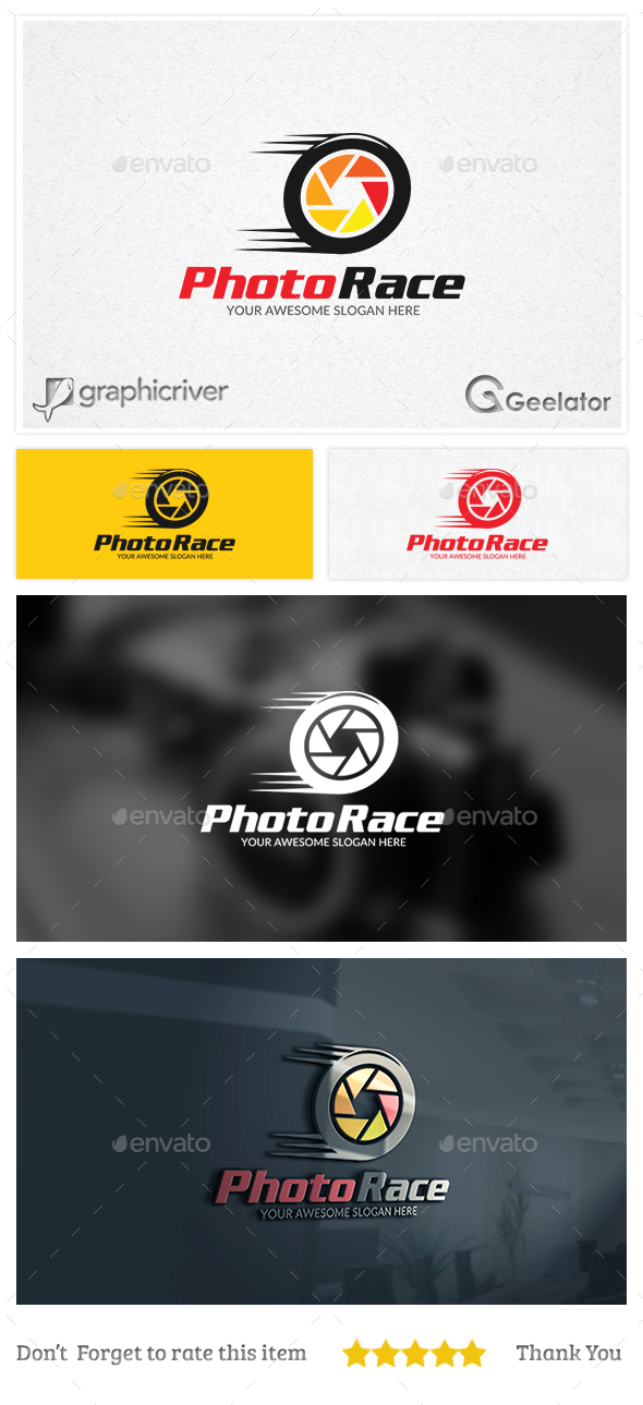 Photo Race Logo Template - Objects Logo Templates