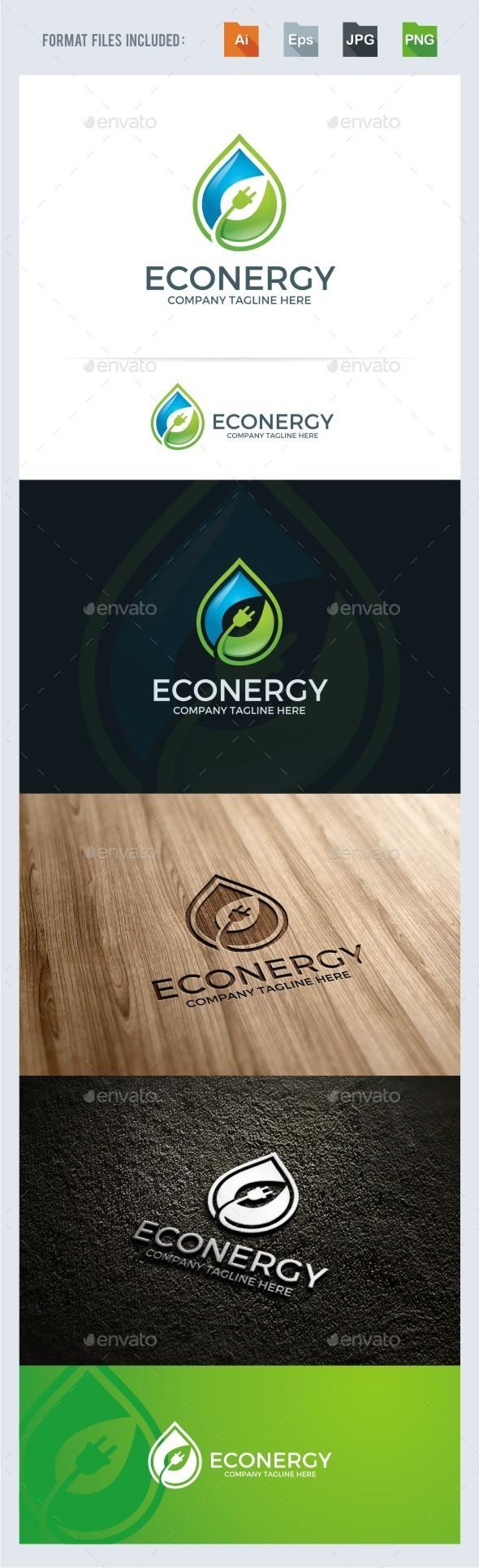 Eco Energy Logo Template - Nature Logo Templates