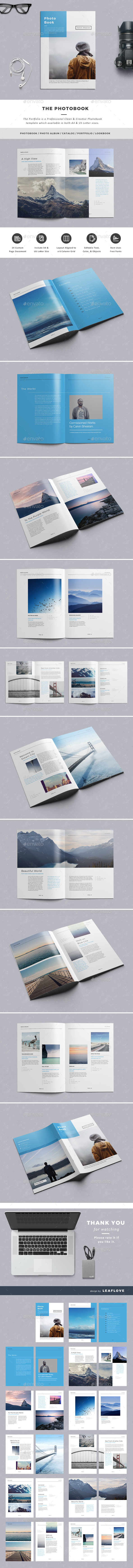 The PhotoBook - Photo Albums Print Templates
