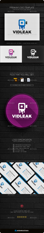 Video Leak Logo - Objects Logo Templates