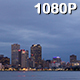 Storm Clouds over New Orleans Skyline - VideoHive Item for Sale