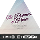 The Promise of Peace Church Flyer - GraphicRiver Item for Sale