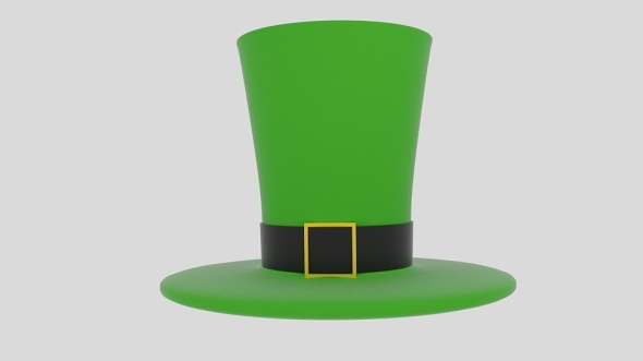 Wacky Leprechaun Hat - 3DOcean Item for Sale