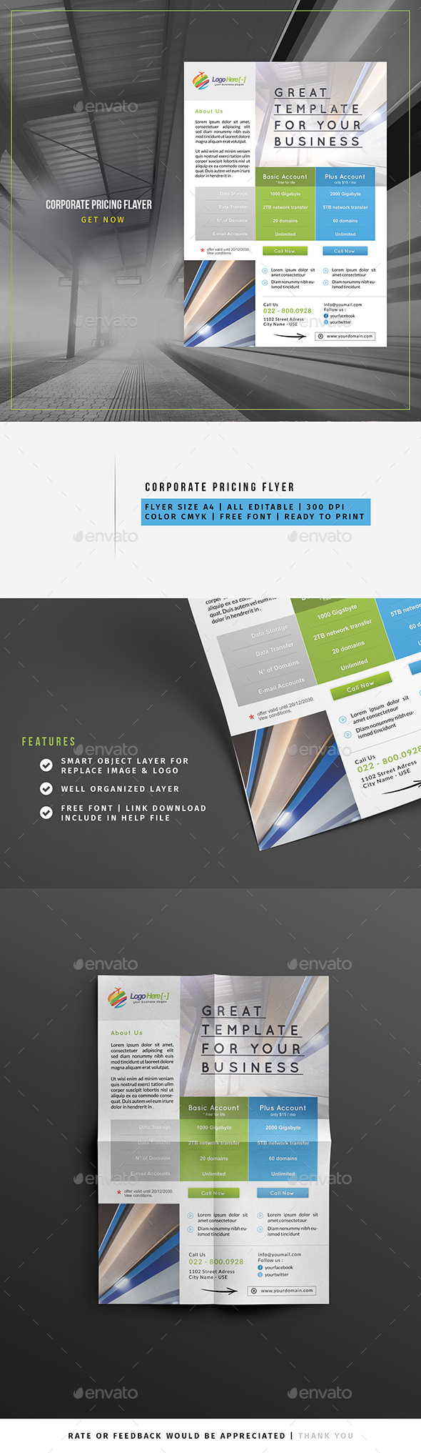 Pricing Flyer - Corporate Flyers