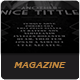 Le Journal Magazine Indesign Template - GraphicRiver Item for Sale