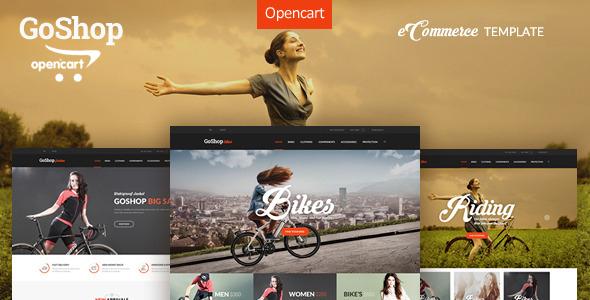 GoShop – Premium OpenCart Template