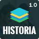 Historia - Responsive Multi-Purpose HTML Template