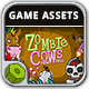 Zombie Cows Game Assets