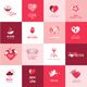 Set of Flat Design Love Icons - GraphicRiver Item for Sale