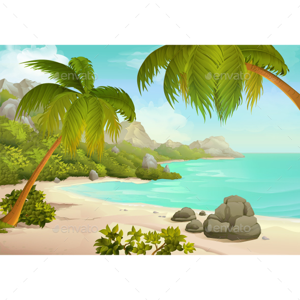 Tropical Beach - Landscapes Nature