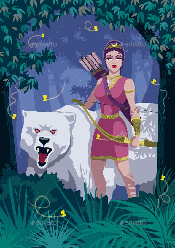 Artemis - People Characters