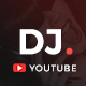 Youtube Dj Channel Art - GraphicRiver Item for Sale