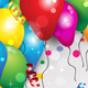 Party Balloons and Confetti - GraphicRiver Item for Sale
