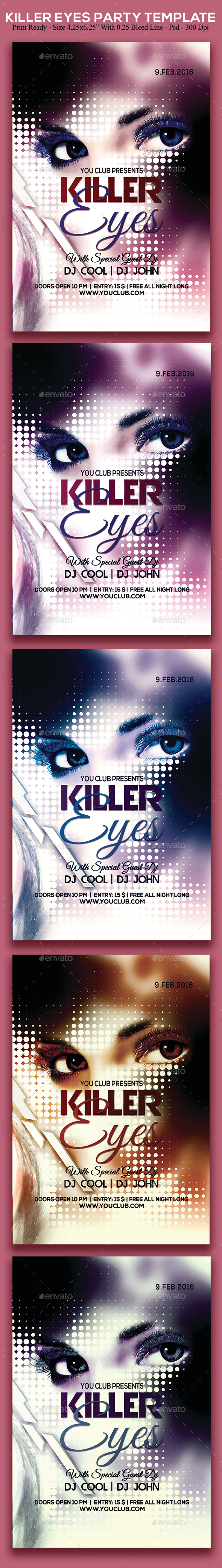 Killer Eyes Party - Clubs & Parties Events