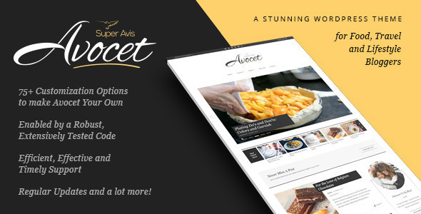 Avocet – Responsive WordPress Blog Theme
