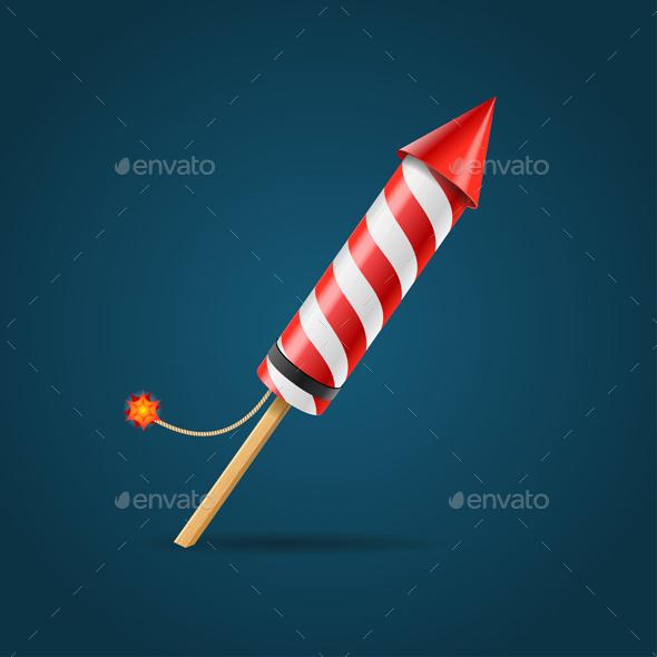 Firework Rocket - Miscellaneous Seasons/Holidays