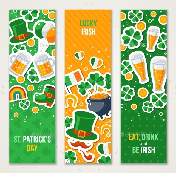 Banners for Patrick Day Celebration - Miscellaneous Seasons/Holidays