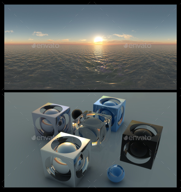 Ocean Dawn 9 - HDRI - 3DOcean Item for Sale