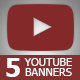 5 Multipurpose YouTube Channel Art - GraphicRiver Item for Sale