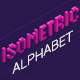 Isometric Alphabet - GraphicRiver Item for Sale