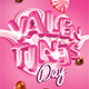 Valentines Candy Flyer - GraphicRiver Item for Sale