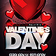 Valentine's Day Party Flyer Template - GraphicRiver Item for Sale