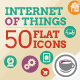 Internet Of Things and Smart Home Icon Set - VideoHive Item for Sale
