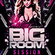 Big Room Session Flyer Template - GraphicRiver Item for Sale