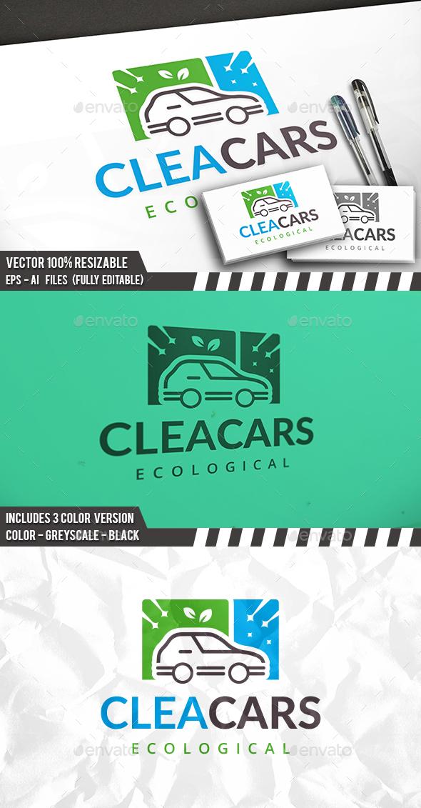 Fresh Car Logo - Objects Logo Templates