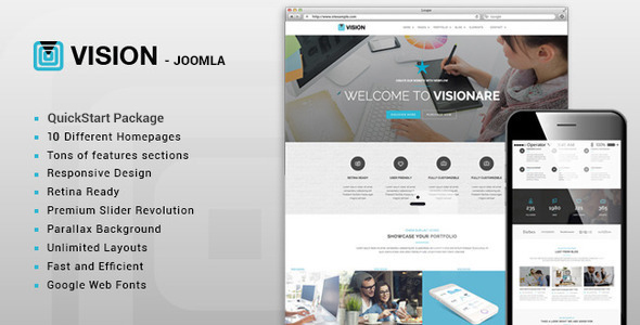 Vision – Multipurpose Joomla Template